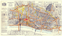 CITY OF LONDON. Post-war Reconstruction plan. HEIGHT BUILDINGS ZONING 1944 map